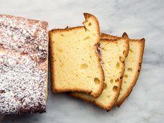 Sour Cream Pound Cake   Food & Wine's lightened take on sour cream pound cake is perfect for breakfast or dessert.