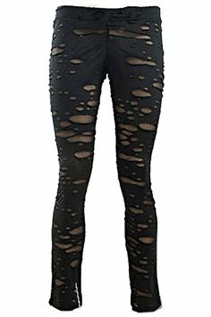 Ripped Off Shot Leggings by Punk Rave