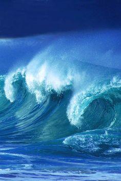 Ocean Power | ocean | | amazingnature | #ocean #amazingnature https://biopop.com/