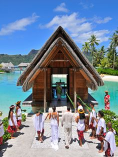 Tahiti - Immaculate beaches, dramatic mountain peaks, and snorkeling that seems like you're in an aquarium. They say French Polynesia is paradise. We say: Believe the hype.
