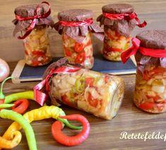 Salată de ardei iuți cu ceapă în oțet - Rețete Fel de Fel Dessert Recipes, Desserts, I Love, Salads, Tailgate Desserts, Deserts, Dessert, Desert Recipes, Food Deserts