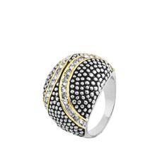 MODELO: B-MXAN1086 PZA: Anillo DESCRIPCION: Anillo con baño de rodio y oro, con incrustaciones de zirconias blancas. #joyería #anillo #fashion #followus #ring.