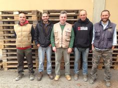 ...Our Staff, from the left  , Borcho,Andrea (winemaker), Marco(administrator),Alessandro and Carlo
