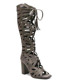 a771e4fe578f5 Love this Slate Rowanda Gladiator Sandal on  zulily!  zulilyfinds Gladiator  Boots