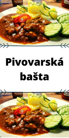 Czech Recipes, Ethnic Recipes, Bastilla, Kung Pao Chicken, Chili, Pork, Food And Drink, Beef, Kale Stir Fry