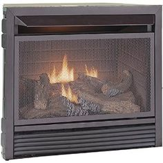 Amazon.com: Duluth Forge Dual Fuel Vent Free Fireplace Insert - 26,000 BTU, Remote Control: Home & Kitchen