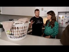 awesome Boyfriend Explains To Girlfriend The Powers Of The Mysterious Laundry Basket