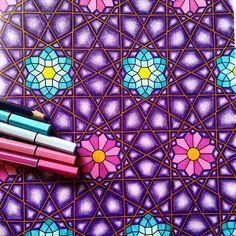 Adoro essas estampas!!!! @Regrann from @sundaymorningcreations -  #coloriageantistress #colorir  #crayons #feutre #coloriagepouradultes #coloriages #stabilo #Regrann #artecomoterapia #livrosinterativos #livrodecolorir #coloringbook #colorindo #paintingbook #passatempo #amocolorir #colorful