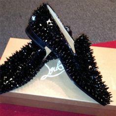Christian Louboutin's Studded Shoes - lilostyle Cheap Mens Fashion, Indian Men Fashion, Mens Fashion Shoes, Men S Shoes, Suit Fashion, African Fashion, Fashion Boots, Fashion Women, Fashion Outfits