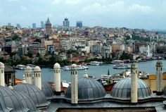 Looking Towards Galata Tower From Süleymaniye Mosque, #Istanbul