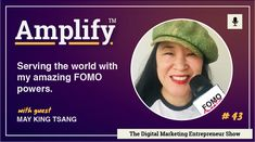 Serving the world with my amazing FOMO powers, with May King Tsang – Amplify™ – Aberdeen's leading digital marketing agency.. Live Tweet, Event Organiser, Digital Marketing, The Creator, King, World, Amazing, The World