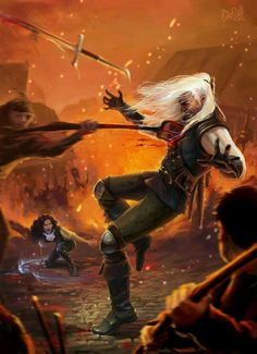 The death of geralt.