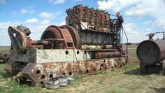 Enterprise DSG-36 Antique Diesel Engine First Fire up After 30 Years!