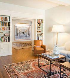 Persertepiche als Highlight im Wohnzimmer und Flur
