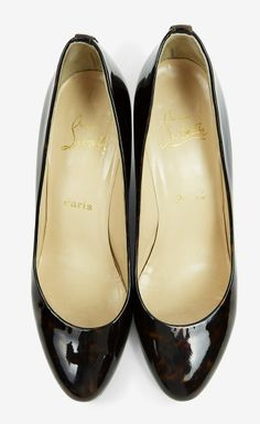 Classic black patent pumps. A must have for every wardrobe.