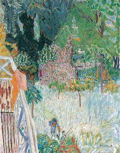 Le Balcon a Vernonnet, Bonnard