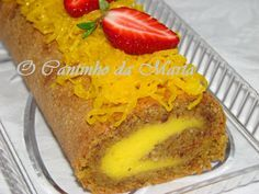 Portuguese Desserts, Portuguese Recipes, Brazilian Dishes, Cake Piping, Different Cakes, Cake Recipes, Delish, Deserts, Food And Drink