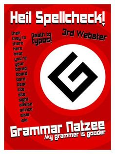 #grammar #nazi azevedosreviews.wordpress.com