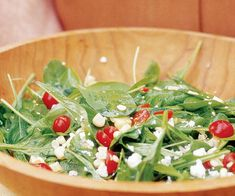 Grilled Corn Salad with Cherry Tomatoes, Arugula and Ricotta Salata