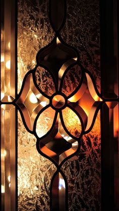 Leaded Glass, Stained Glass Art, Beveled Glass, Stained Glass Windows, Mosaic Glass, Glass Door, Art Nouveau, Glass Design, Earth Tones
