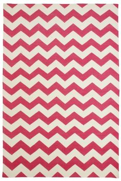 i love this zig zag print rug. the kitchen floor is blue. what would be a good color accent?