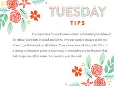 It's a project portfolio Tuesday tip kind of day!  http://www.everythingbloom.com/tuesday-tips-168-·-project-portfolio