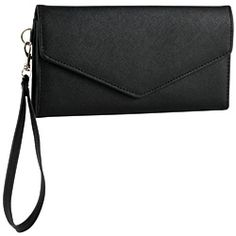 Our textured leather-blend wristlet is perfect for keeping all your must-haves in one spot without carrying a bulky bag!