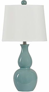 JCPenney's Double Gourd Ceramic Lamp