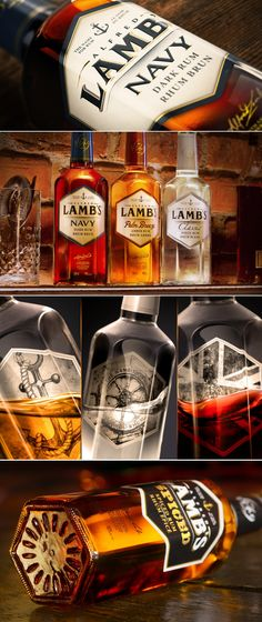 Lamb's: A Family of Fine Smooth and Refined Rums — The Dieline | Packaging & Branding Design & Innovation News