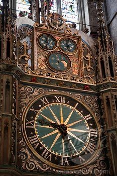 Astronomical clock Durham Cathedral, England Durham England, North East England, London England, Durham City, St Johns College, Durham Cathedral, Cool Clocks, Interesting Buildings, Westminster Abbey
