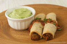 taquitos- could make homemade tort's....