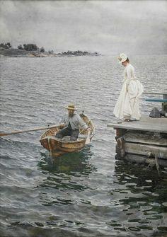Anders Zorn (1860-1920), Joie de l'Eté - 1886