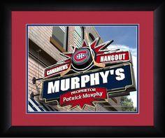 "Columbus Blue Jackets Pub Print""Pub Name"" inscription 12 ""Proprietor Name"" inscription 18 Montreal Canadiens, Nhl, Patrick Murphy, Arizona Coyotes, Columbus Blue Jackets, Pub Signs, Of Montreal, Wall Fans, Washington Capitals"