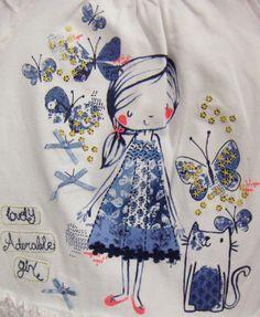 print & pattern: KIDS DESIGN - george at asda Little Girl Fashion, Kids Fashion, Baby Prints, Pretty Art, Graphic Illustration, Cute Kids, Character Inspiration, Machine Embroidery, Little Girls