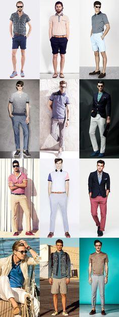 Men's Polo Shirt Lookbook