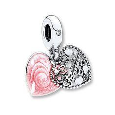 Pandora Dangle Charm Love Makes a Family Sterling Silver