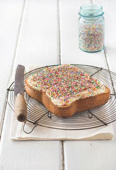 Giant Fairy Bread Cake by raspberri cupcakes, via Flickr