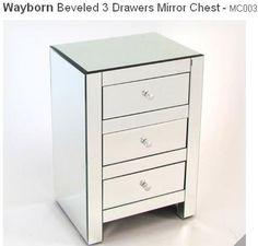 Beau Beveled 3 Drawer Chest By Wayborn Wayfair.com $235 Mirror House, Upstairs  Bedroom,