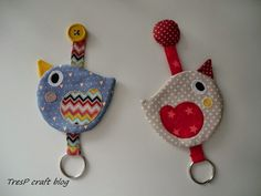 Pajaritos llavero | birds keys rings