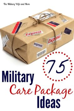 Looking for military care package ideas? Here are some fun and creative ways to get started!! via @lauren9098
