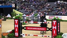 Beezie Madden & Cortes 'C' Win the National Horse Show Grand Prix. The Last Jump OHMYGOSH!