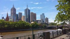Melbourne from the South Bank.