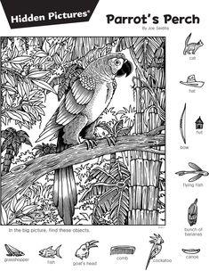 쉬운 새(Burdd) 종이모형 만들기(어린이 종이 모형 만들기)새(마티 Kemppainen) 종이모형 장난감 &#4... Animal Activities, Kindergarten Activities, Colouring Pages, Coloring Pages For Kids, Childrens Word Search, Hidden Pictures Printables, Find The Hidden Objects, Hidden Picture Puzzles, Critical Thinking Activities