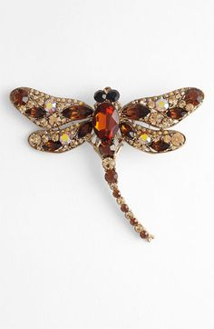 Tasha 'Critters' Dragonfly Brooch available at #Nordstrom