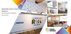 @colorimpresosac Presentes en la conferencia de Prensa #elPlatoMásRico #Nestle gracias a @productoresasociados