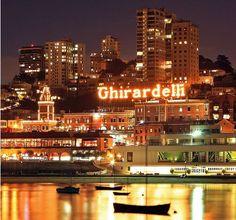 Ghirardelli Square - San Francisco, CA.  CHOCOLATE...enough said!
