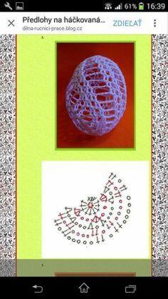 Easter Egg Pattern, Easter Crochet Patterns, Crochet Edging Patterns, Crochet Rabbit, Crochet Birds, Crochet Doilies, Holiday Crochet, Crochet Home, Easter Crafts