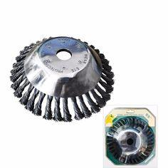 Garden Grass Steel Wire Wheel Trimmer Head