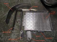 Rattlebone kit Parts