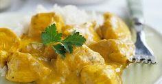 La receta de pollo al curry, es fácil de cocinar, una receta practica y deliciosa. El pollo al curry, lleva pocos ingredientes, el pollo queda sumamente sabroso. Poulet Curry Coco, Coco Curry, Batch Cooking, Cooking Recipes, Healthy Recipes, Yummy Recipes, Tikki Masala, Mauritian Food, Pollo Chicken